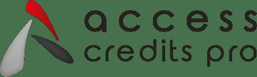 Logo access credit pro, partenaire de notre espace de coworking